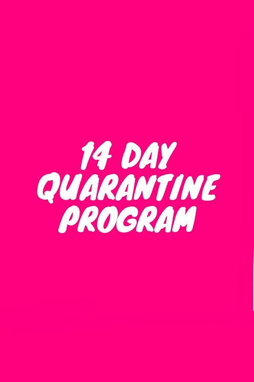 14 Day Quaratine Program
