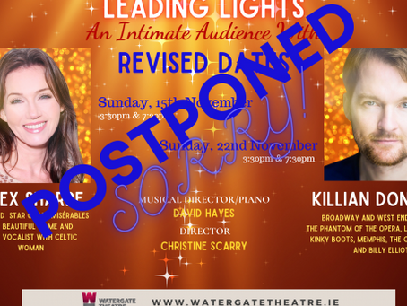 Leading Lights - Watergate Theatre: An Intimate Audience with Killian Donnelly and Alex Sharpe