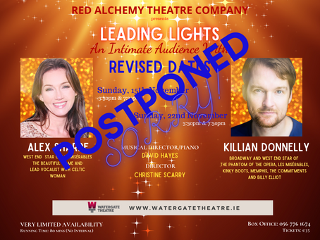 LEADING LIGHTS: An Intimate Audience with ... Killian Donnelly & Alex Sharpe
