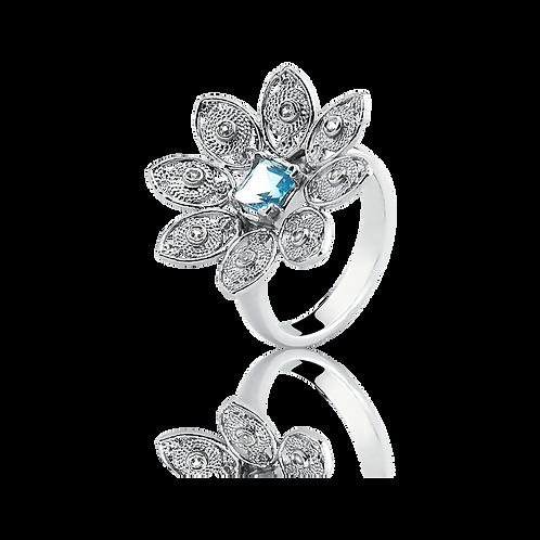 Anel Flor de Avalon
