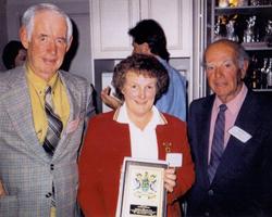 Life Members Roy Brown Creina Dawson  Rod Kerr