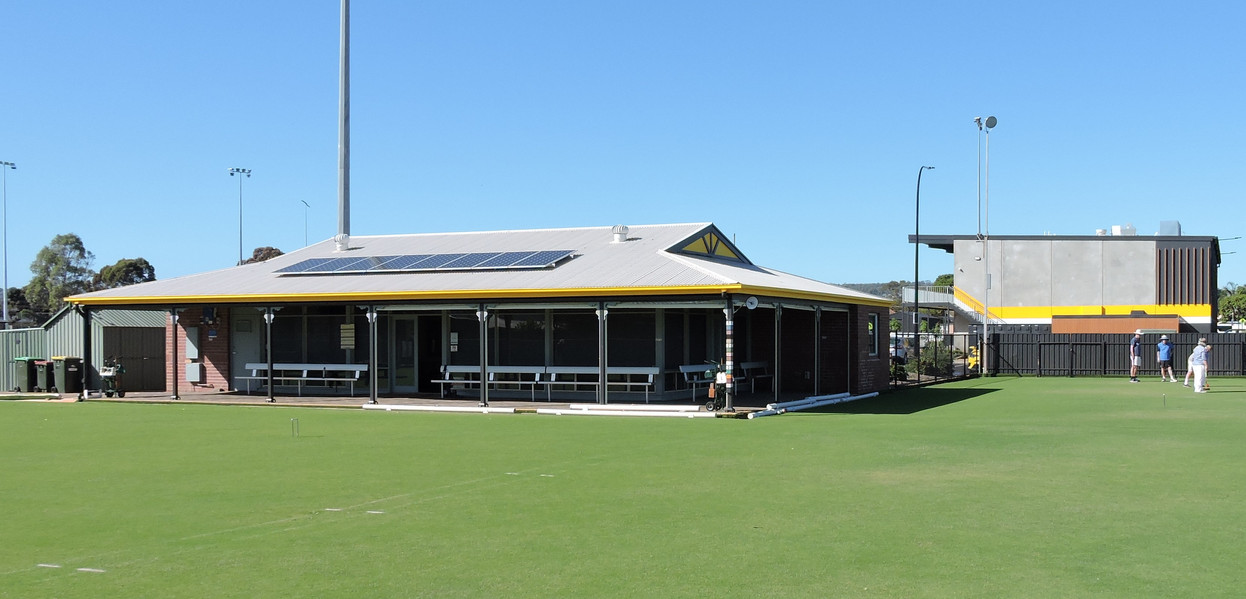 Clubhouse painted