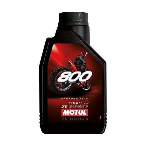 Olio miscela MOTUL 800 Off-road - 1 lt