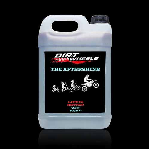 Dirt Wheels The Aftershine tanica 5 lt