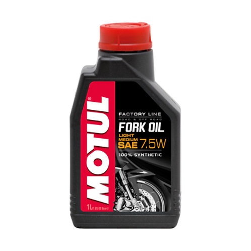 Olio forcelle MOTUL FORK OIL FACTORY SAE 7.5 W  1lt