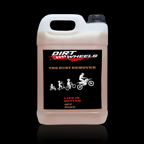 Dirt Wheels The Rust Remover tanica 5 lt