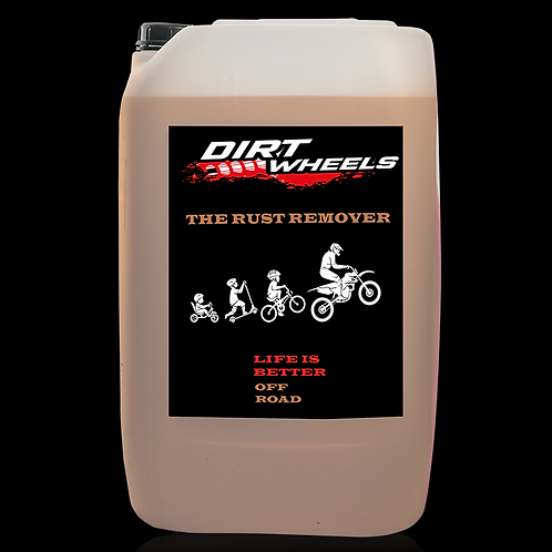 Dirt Wheels The Rust Remover tanica 25 lt