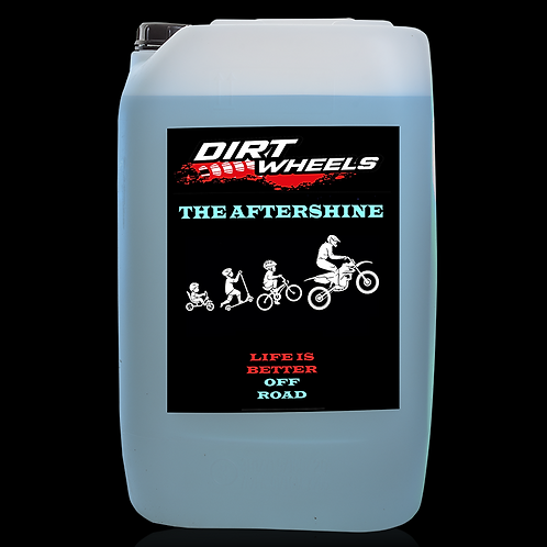 Dirt Wheels The Aftershine tanica 25 lt