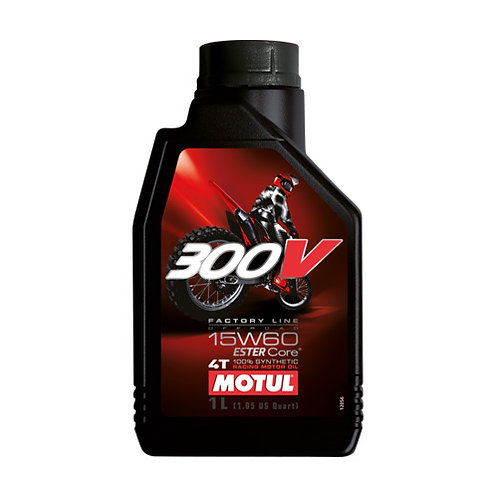 olio motore Motul 300v OFF ROAD 15w-60 - 1 lt