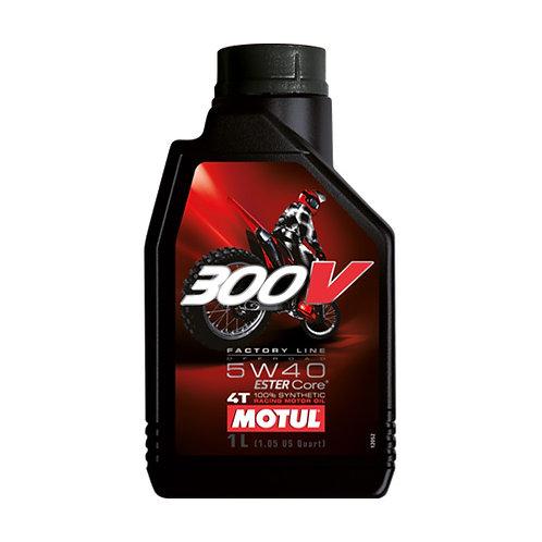 Olio motore MOTUL 300V OFF ROAD 5W-40  1 lt