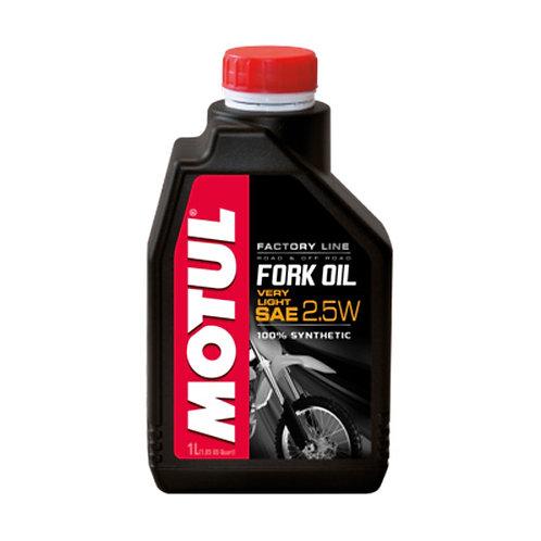 Olio forcelle MOTUL FORK OIL FACTORY SAE 2.5W  1lt