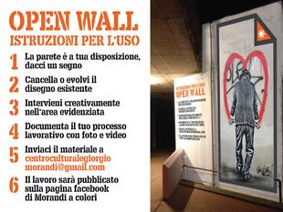 open wall