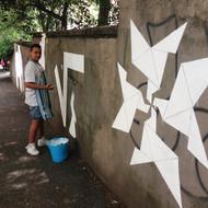 Origami (junior street art)