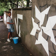 Origami (junior street art)