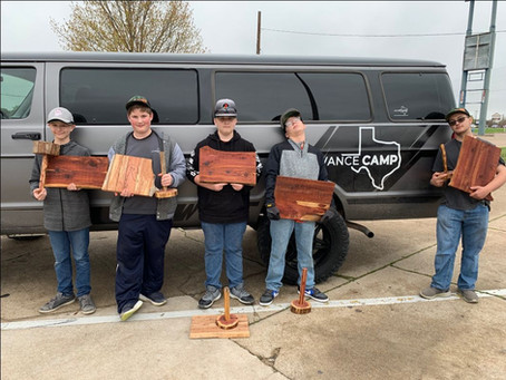 March Camp - Woodworking