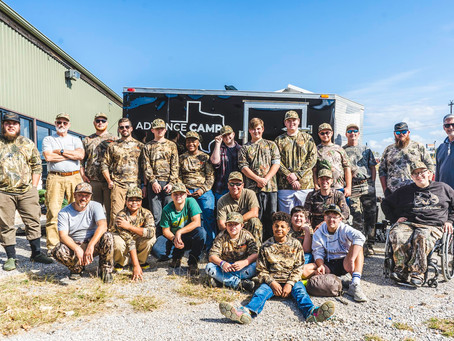 November Camp - Field to Plate Duck Hunting