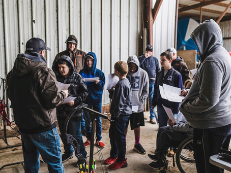 February Camp - Archery