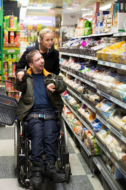 Fun Grocery shopping with a home health aide