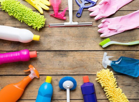 Germ Control Tips for Cleaning
