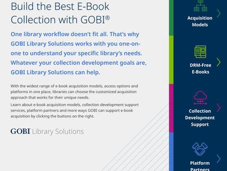 New eBrochure: E-Books in GOBI