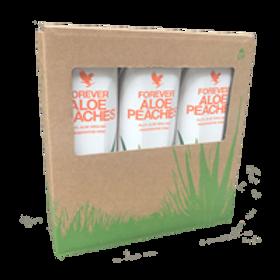 Forever Aloe Peaches Tripack Aloe Vera drink for Immunity