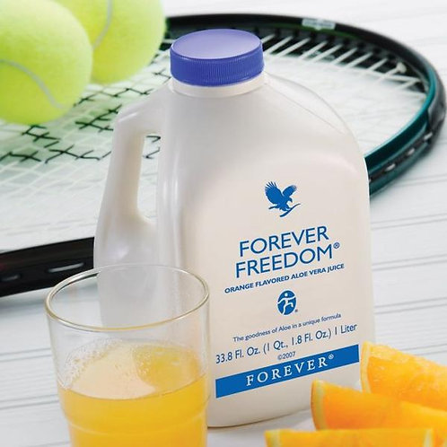 Forever Freedom® Aloe Vera orange-flavored juice for joints Tripak
