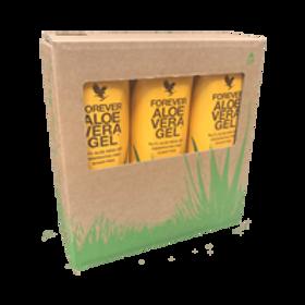 Forever Aloe Vera Gel Tripack drink for Immunity, skin, hair and nails