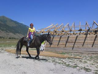 Конные прогулки в Теберде