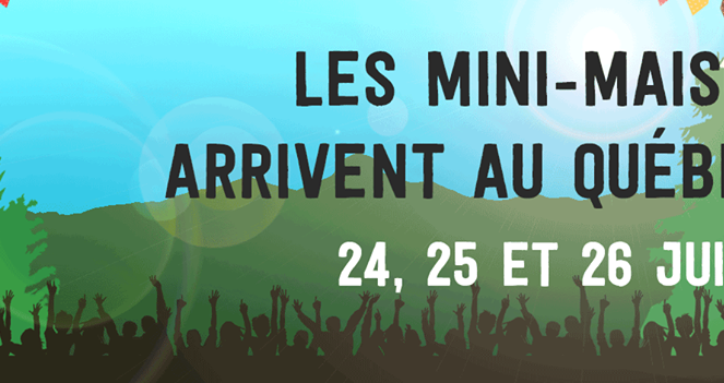 Festival des mini-maisons !
