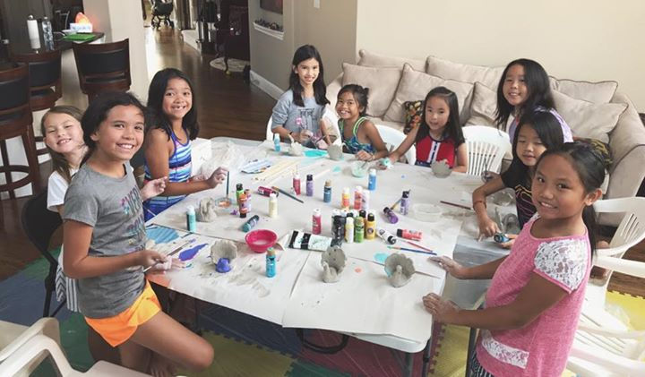 Art Parties with Ms. Casiano