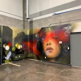 Mural for Zerokey Offices (2021)