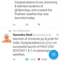 Prime Minister Appreciation