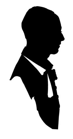 La silhouette homme