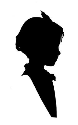 Silhouette fillette