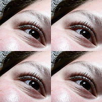Naturel lash extensions for this beauty