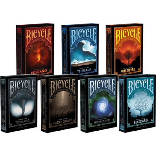 Bicycle Natural Disasters Series Collectable Poker USPCC Limited Edition Deck