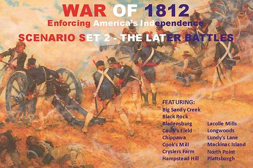 War of 1812 - Later Battles PDF