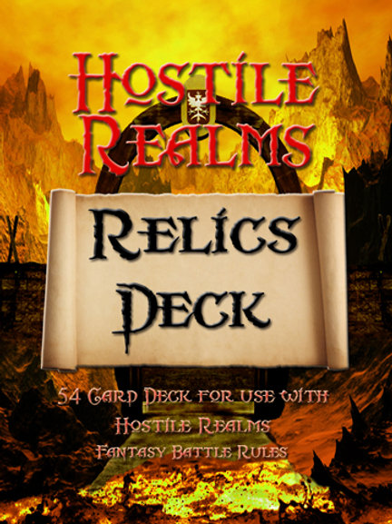 Hostile Realms Color Relic Decks