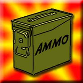 """1"""" Ammo Box Game Counters"""