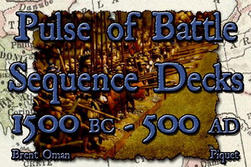 Pulse of Battle Deluxe Sequence Card Decks - double decks