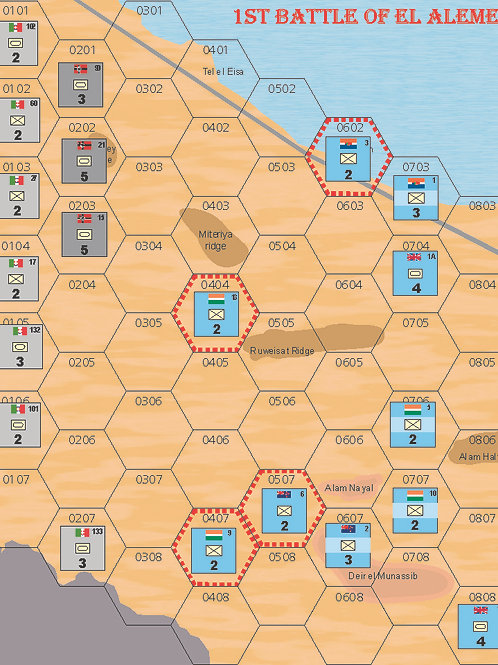 1st battle of el Alamein PDF