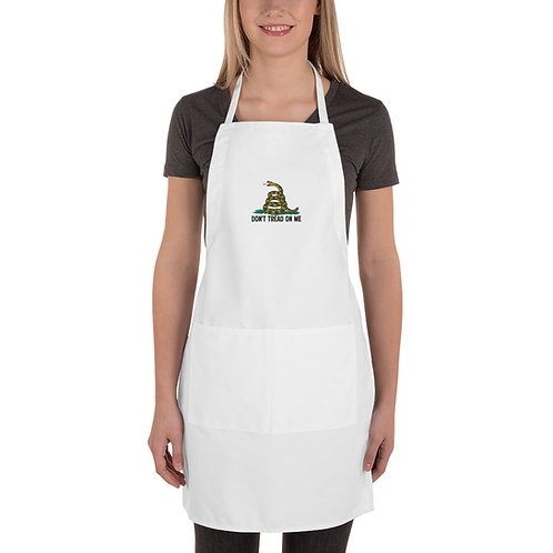 Gadsden Flag Embroidered Apron