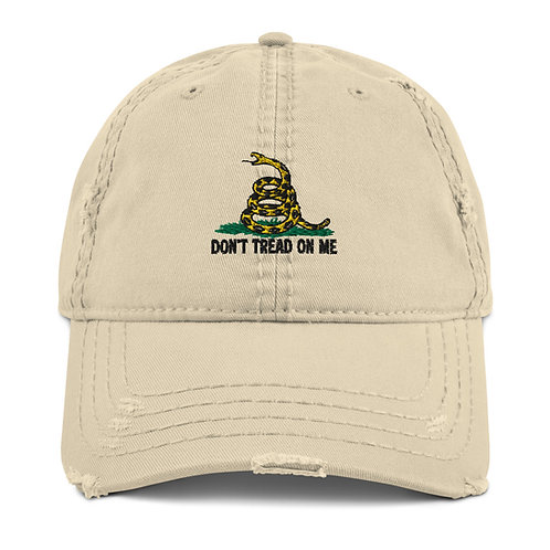 Distressed Gadsden Hat (4 colors to choose)