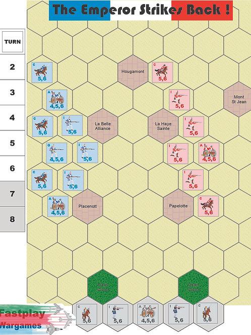 The Emperor strikes back! Waterloo 1815