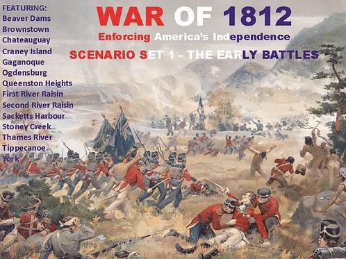 War of 1812 - Early Battles PDF
