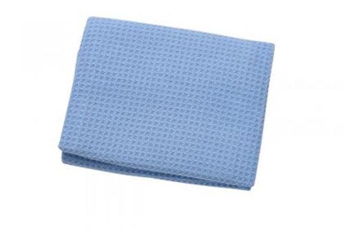Blue Waffle Cloth 85x55