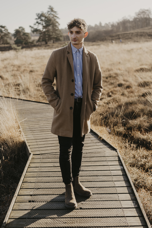 Male model photo shoot in Norfolk