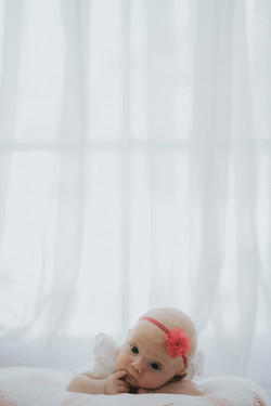 Newborn shoot at home in norfolk