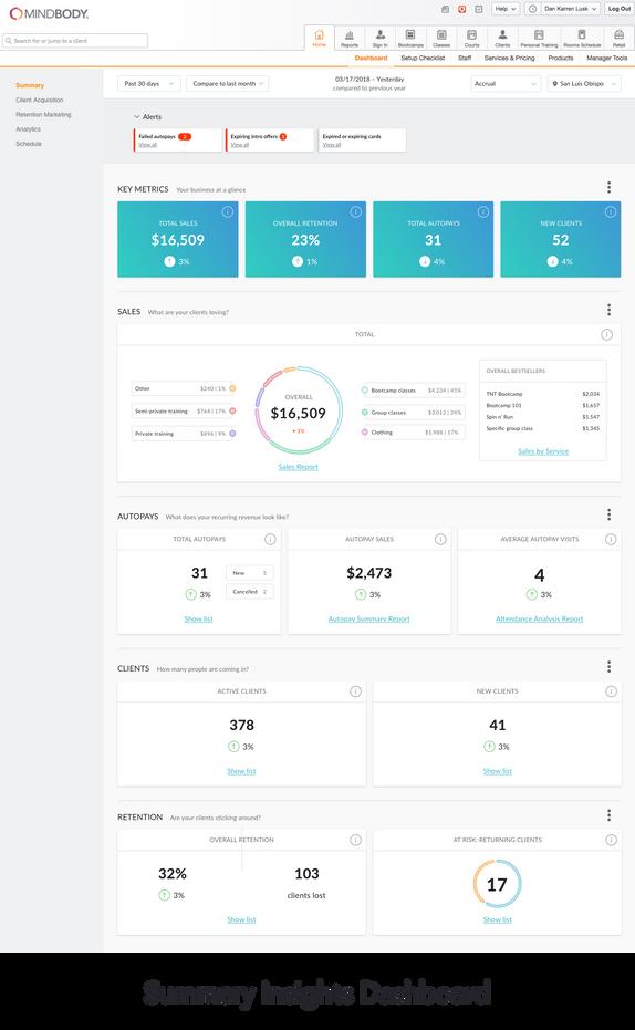 COMING SOON: Summary Insights Dashboard