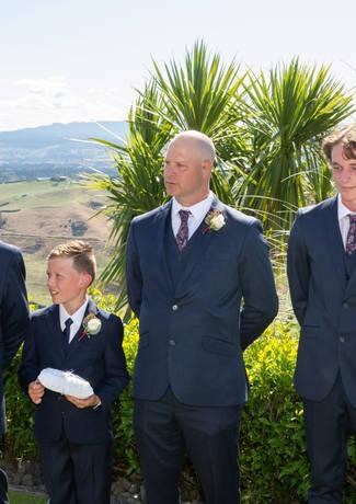 Groomsmen At Ceremony